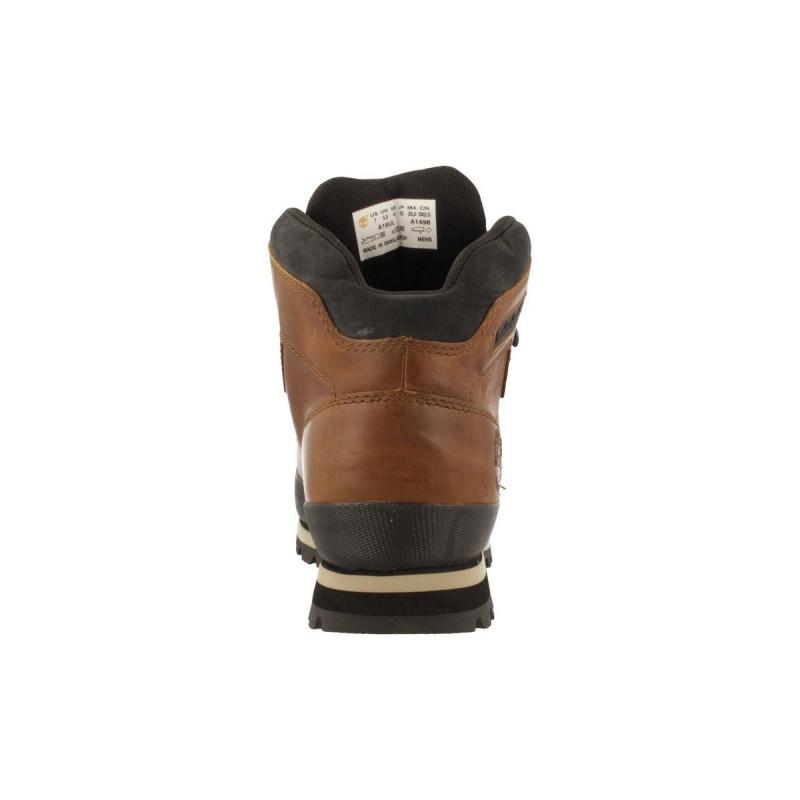 TIMBERLAND Зимни обувки EURO HIKER LEATHER W TOBACCO