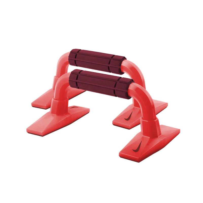 NIKE Фитнес аксесоари NIKE PUSH UP GRIP 2.0 BRIGHT CRIMSON/TEAM RED/TEAM RED