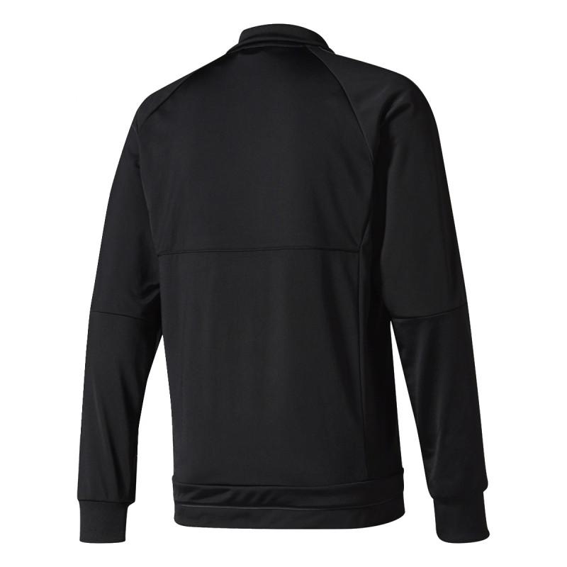 adidas Суитшърти с цип REAL PES SUIT       BLACK/SOLGRE