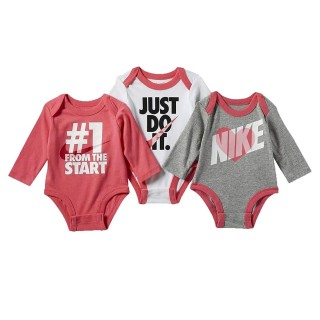 Nike- Haddad Комплекти - Сет NKG NIKE 3 PC LS BODYSUIT SET
