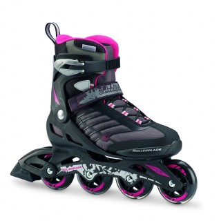 ROLLERBLADE Ролери ZETRABLADE W BLACK/CHERRY