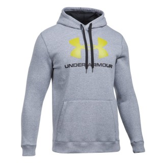 UNDER ARMOUR Суитшърти RIVAL FITTED GRAPHIC HOODIE