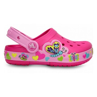 CROCS Пантофи CROCS LIGHTS BUTTERFLY CLOG PS 15685