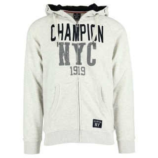 CHAMPION Суитшърти с цип HOODED FULL ZIP TOP