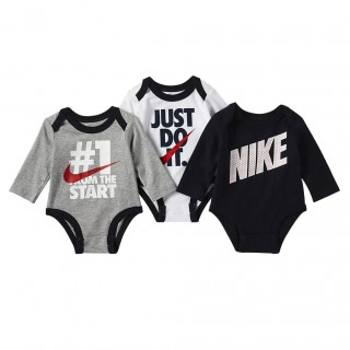 Nike- Haddad Комплекти - Сет NKB NIKE BOYS 3PC LS BODYSUIT