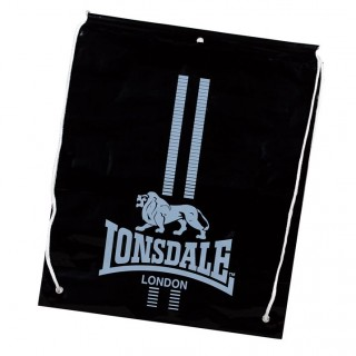 LONSDALE Малки чанти LONSDALE CARRY SACKS 62 BLACK/WHITE