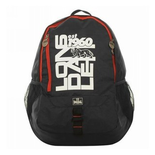 LONSDALE Раници BACKPACKSNR32 BLACK/WHITE/RED