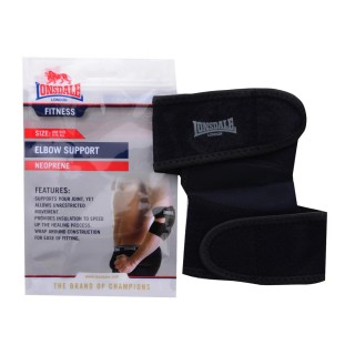 LONSDALE Наколенки LONSDALE NEO ELBOW SUP00 BLACK -