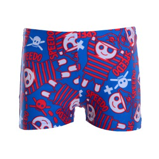 SPEEDO Бански ESS ALV ASHT IM BLUE/RED