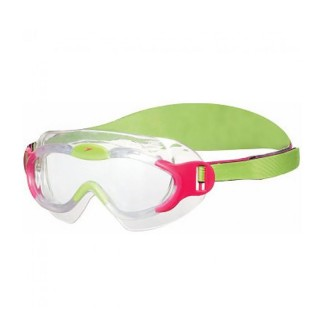 SPEEDO Очила за плуване SEA SQUAD MASK JU PINK/GREEN