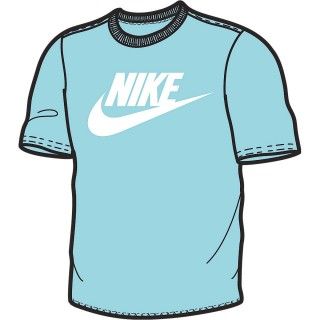 NIKE Тениски M NSW TEE ULTRA RAW HEM