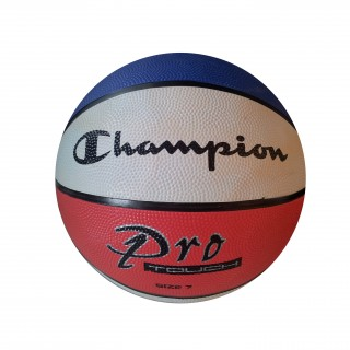CHAMPION Топки RUBBER BASKETBALL BLUE/WHITE/RED 3