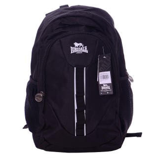 LONSDALE Раници LONSDALE BLACK BACKPACK