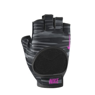 NIKE Ръкавици за фитнес NIKE WOMEN`S FIT TRAINING GLOVES M ANTHRACITE/BLACK/HYPER PINK