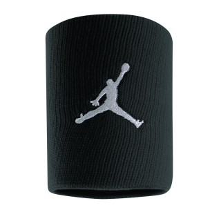 NIKE Ленти за ръце JORDAN JUMPMAN WRISTBANDS BLACK/WHITE