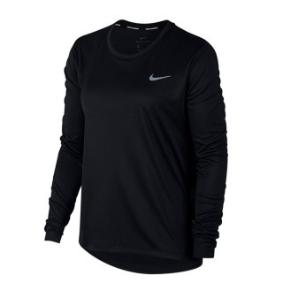 NIKE Блузи W NK MILER TOP LS