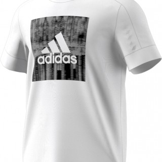 ADIDAS Тениски ID FLASH TEE        WHITE/BLACK