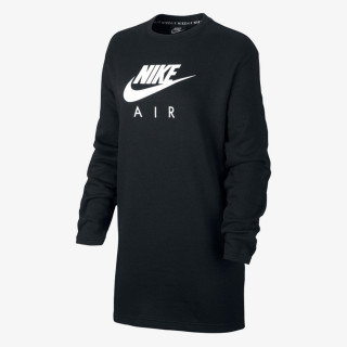 NIKE Рокли W NSW AIR CREW DRESS BB FLC