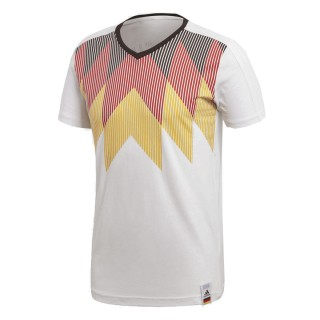 ADIDAS Тениски GER CI TEE          WHITE/BLACK
