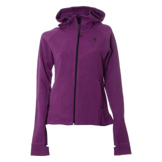 CHAMPION Суитшърти с цип WOMEN HI TECH FULL ZIP HOODY