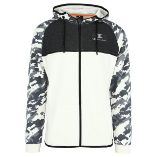 CHAMPION Суитшърти с цип PRINTED TECH FULL ZIP HOODY