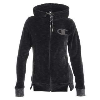 CHAMPION Суитшърти с цип VELVET FULL ZIP HOODY