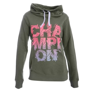 CHAMPION Суитшърти NEON LADY HIGH NECK SWEATSHIRT
