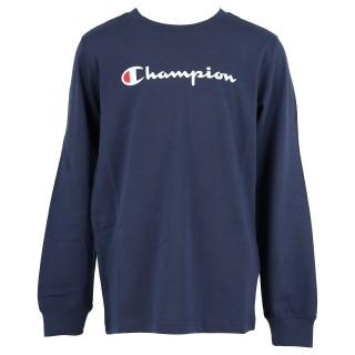 CHAMPION Блузи с дълъг ръкав STRIPE LONG SLEEVE T-SHIRT