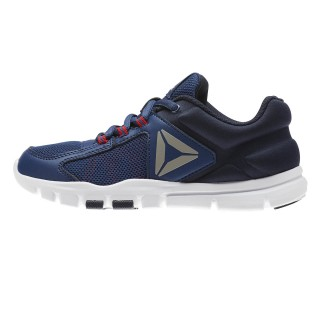 REEBOK Спортни обувки YOURFLEX TRAIN 9.0  WASHED BLUE/NAVY/RED