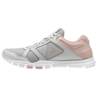 REEBOK Спортни обувки YOURFLEX TRAINETTE  SKULL GREY/CHALK PIN