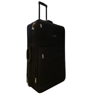 J2C Куфари J2C BLACK SOFT SUITCASE 26INCH