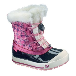 MERRELL Зимни обувки SPRUZZI WP KIDS  WINEBERRY