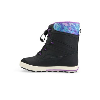 MERRELL Зимни обувки GIRLS SNOW BANK 2.0 WTRPF BLACK/PRINT/BERRY