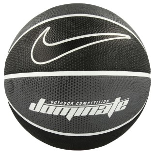 Nike- JR Топки NIKE DOMINATE 8P 07 DARK GREY/WHITE/WHITE/BLACK