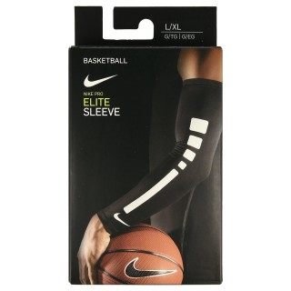 Nike- JR некласифициран NIKE PRO ELITE SLEEVES L/XL BLACK/WHITE/WHITE