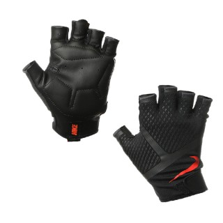 Nike- JR Ръкавици за фитнес NIKE MEN S RENEGADE TRAINING GLOVES L BLACK/ANTHRACITE/TOTAL CRIMSON