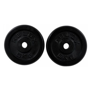RING SPORT Тежести BLACK PAINTING  REGULAR PLATE 2X5KG