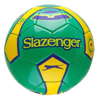 SLAZENGER Топки SLAZ FOOTBALL SIZE 5 GREEN/YELLOW