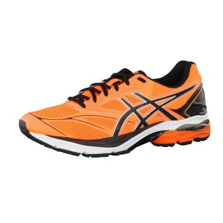 ASICS Спортни обувки GEL-PULSE 8 SHOCKING ORANGE/BLACK/WHITE