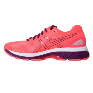 ASICS Спортни обувки GEL-NIMBUS 19 FLASH CORAL/DARK PURPLE/WHITE