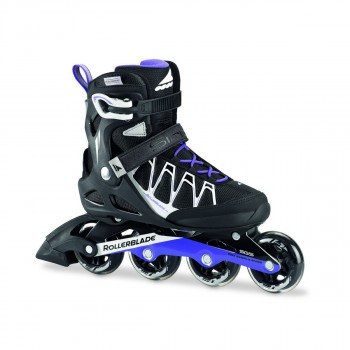 ROLLERBLADE Ролери SIRIO 80 ST W BLACK/PURPLE
