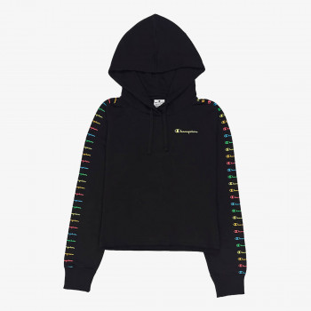 CHAMPION Суитшърти HOODED CROP TOP