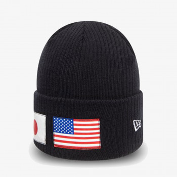 NEW ERA Шапки KAPA NE FLAG WATCH KNIT NE NVY
