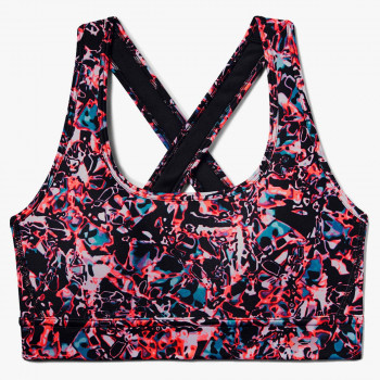 UNDER ARMOUR Спортно бюстие ARMOUR MID CROSSBACK PRINTED BRA