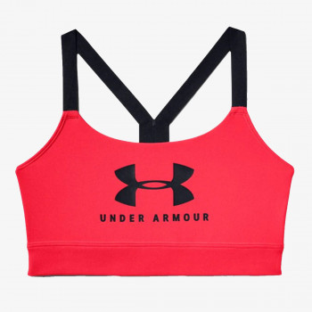 UNDER ARMOUR Спортно бюстие ARMOUR MID SPORTSTYLE GRAPHIC BRA
