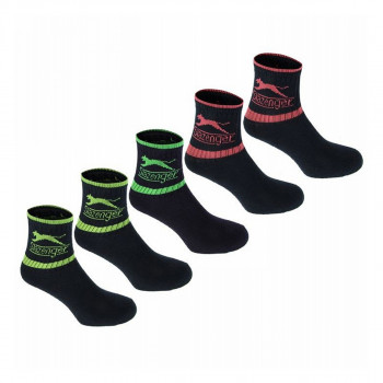 SLAZENGER Чорапи 5PK COL CREW SOCK10 MULTI MENS 7-11