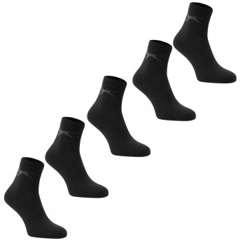 SLAZENGER Чорапи 5PK COL CREW SOCK10 COLOURED LADIES 4-8