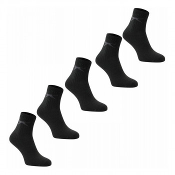 SLAZENGER Чорапи 5PK COL CREW SOCK 10 COLOURED