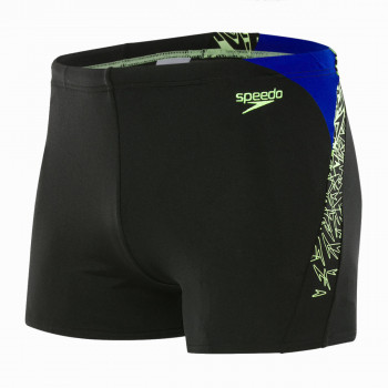 SPEEDO Бански BOOM SPL ASHT AM BLACK/GREEN