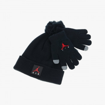 Nike- Haddad Анцунзи JORDAN JAN AIR PATCH BEANIE SET